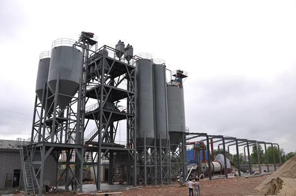 如何提高粉砂浆生产线原材料检测工作质量